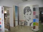 Выставочный зал | стенд мозаики