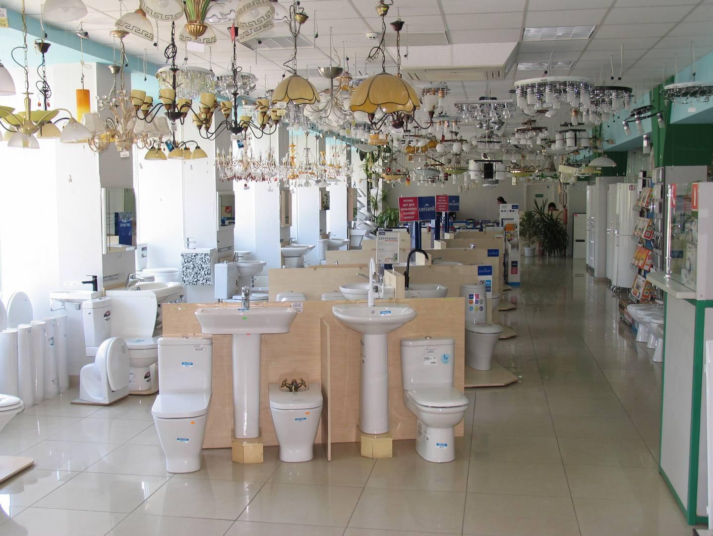 Выставочный зал 2-й этаж | сантехника